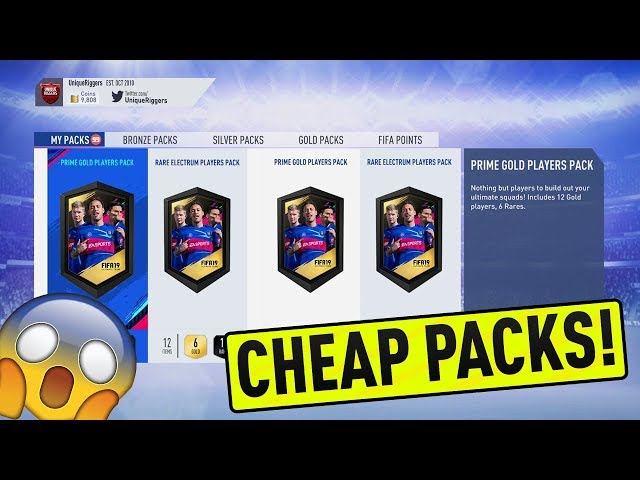 THE BEST VALUE SBC ON FIFA 19! HOW TO GET CHEAP PACKS NOW! ( FIFA 19 ULTIMATE TEAM )