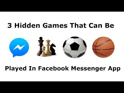 How To Play 3 Hidden Games On Facebook Messenger App | Geek Guys