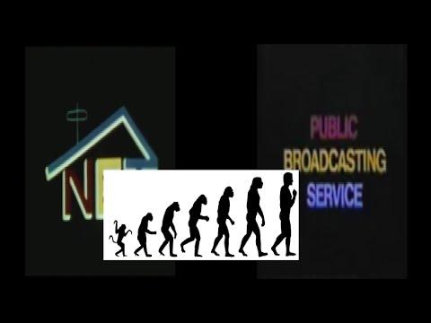 Logo Evolution: National Educational Television/Public Broadcasting Service (1952-present)