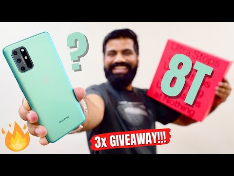 OnePlus 8T Unboxing & First Look - A Fresh Flagship Performer - 3x Giveaway