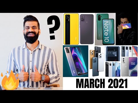 Top Upcoming Smartphones - March 2021🔥🔥🔥