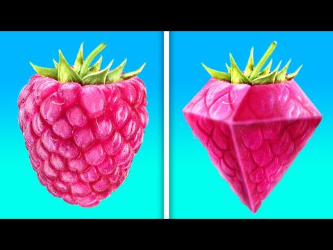 25 UNBELIEVABLE FOOD IDEAS WITH FRUITS AND VEGETABLES || SIMPLE CUT AND PEEL TRICKS