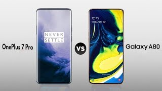 Samsung Galaxy A80 Vs OnePlus 7 Pro Speed Comparison In Hindi