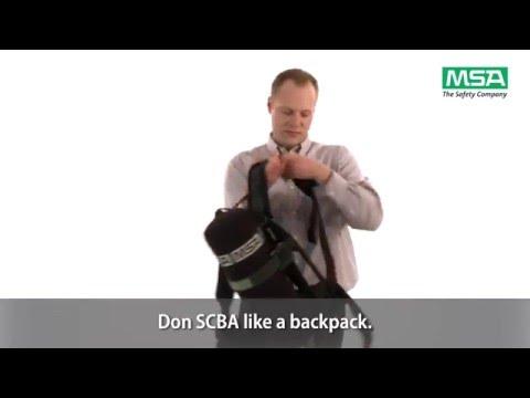 MSA SCBA - Donning