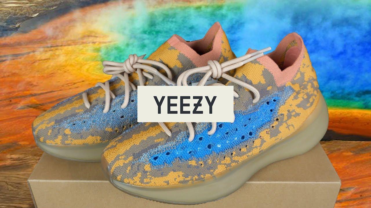 НОВЫЕ Adidas YEEZY 380 BLUE OAT || АНБАКСИНГ || ОБЗОР КРОССОВОК
