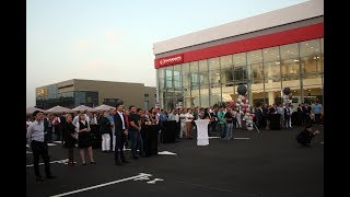 Открытие  автоцентра Hino в Алматы.