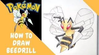 How to Draw Beedrill No.15 | Pokemon