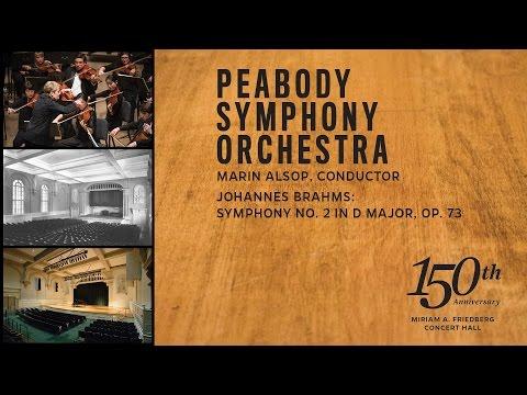 Brahms: Symphony No. 2, PSO, Marin Alsop