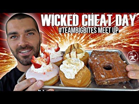 Wicked Cheat Day #36 | #TeamBigBites Meet Up | Coach Kibira