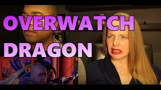 Overwatch Animated Short  Dragons (Couple Reaction)