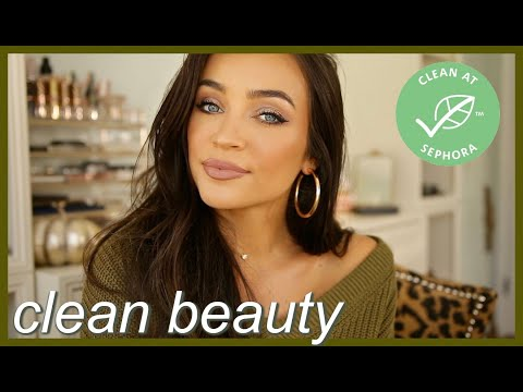 GRWM: Using only CLEAN BEAUTY products 💚