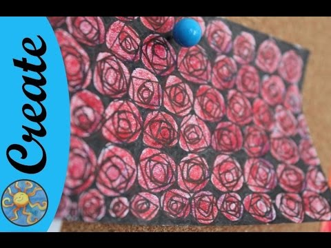 Flowers Zentangle Roses Using Vitruvius Pattern Youtube