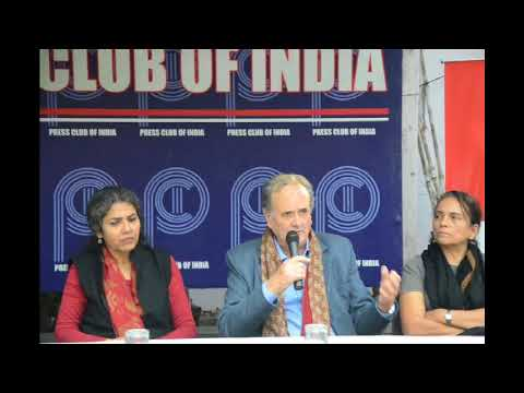 Mark Tully speaks about the Babri Masjid demolition at Press Club of India