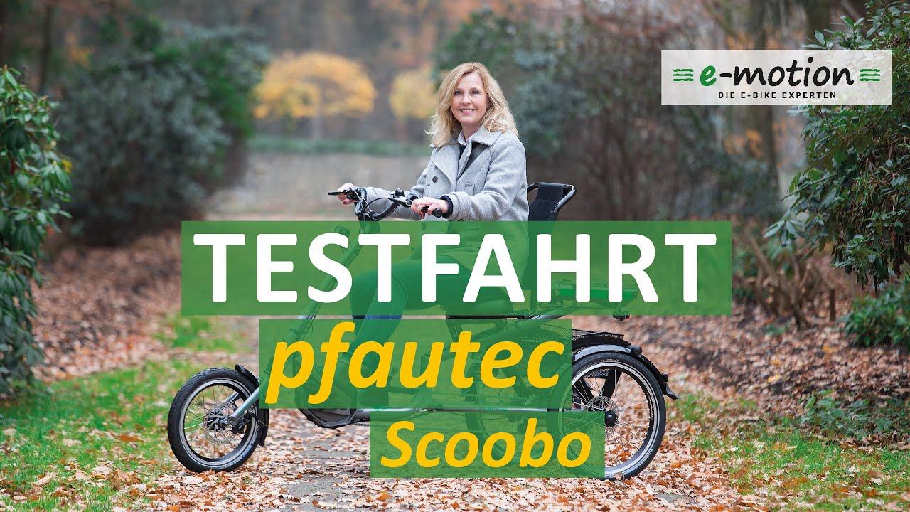Download pfautec Scoobo - Neues Scootertrike |  leichtfüssig, stabil, wendig