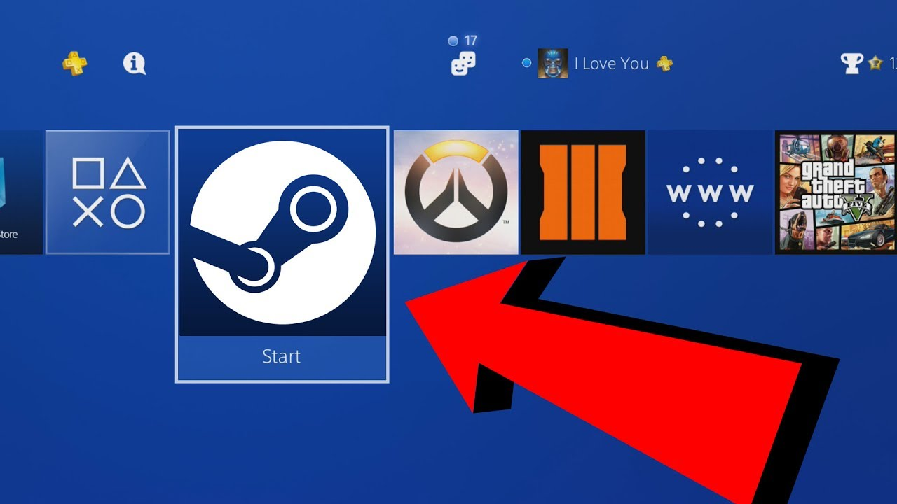 play steam games on ps4