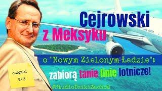 Cejrowski: zabiorą tanie linie lotnicze! 2019/12/16 Studio Dziki Zachód odc. 37 cz. 3