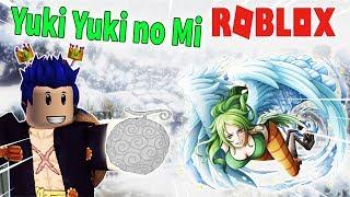 ROBLOX-Monet's power demon Logia Yuki Yuki no Mi Full 750 DF   Steve's One Piece