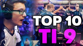 TOP-10 BEST PLAYS of the International 2019 - TI9 Dota 2