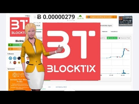 Blocktix $TIX Gains 50% In the Past Day 5