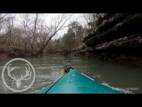 Turkey Scouting + Shed Hunting By Kayak
