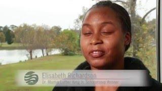 2016 MLK Scholarship Award Winner: Elisabeth Richardson