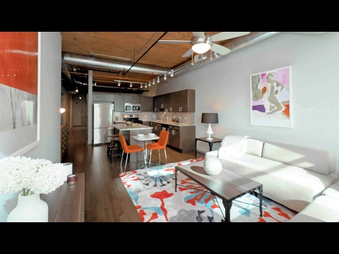 Tour a model 2-bedroom, 2-bath at The Lofts at River East in Streeterville