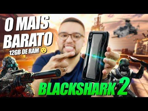 O CELULAR GAMER mais BARATO de 2019! BLACKSHARK 2 da XIAOMI!