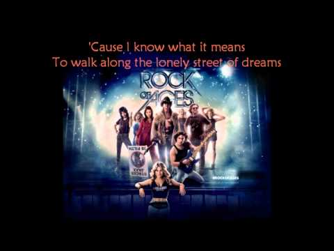 Rock Of Ages - Here I Go Again with Lyrics