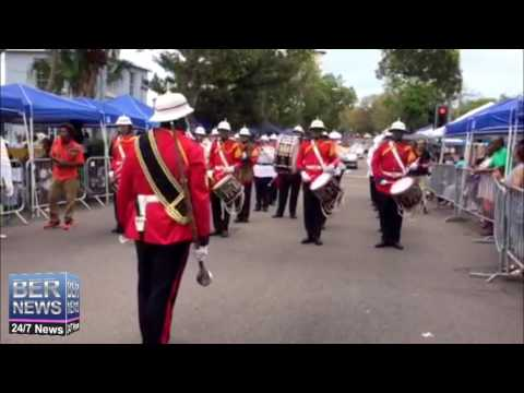 Royal Bermuda Regiment Band at Bermuda Day Parade, May 24 2016