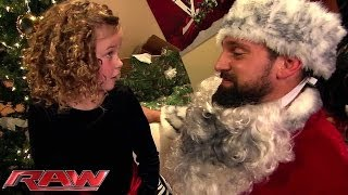 Bad Santa vs. Good Santa on Raw
