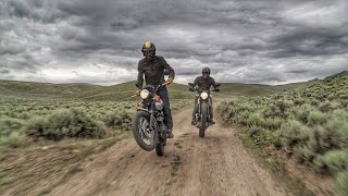 Scramblers in the Rockies! Ducati Scrambler vs Triumph Scrambler | ON TWO WHEELS
