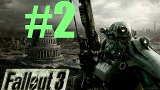 "Fallout 3 : ""VAULT ESCAPE"" Lets Play #2 (Fallout 3 Gameplay)"