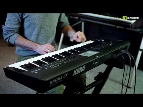 Download Warm And Smooth Tones With The Korg Krome Ex Namm