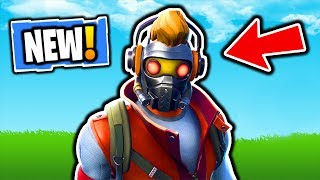 FORTNITE NEW STAR-LORD SKIN - NEW DANCE OFF EMOTE! FORTNITE NOUVELLE MISE À JOUR MAGASIN D'ARTICLES! SKINS VBUCKS GRATUIT