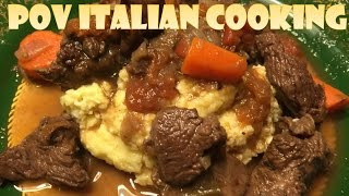 Italian Beef Stew: POV Italian Cooking Episode 14