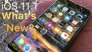iOS 11.1 is Out! - What's New?