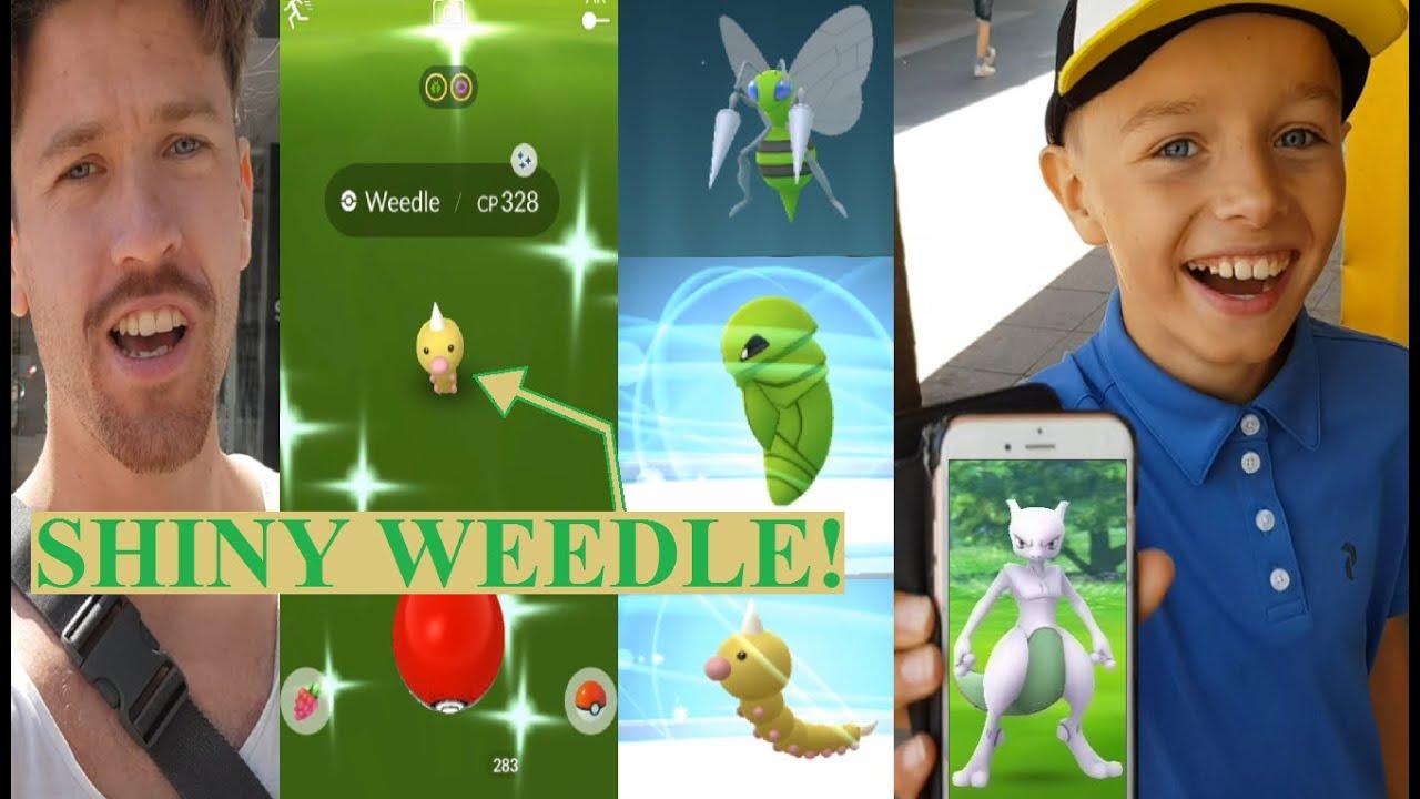 Pokemon GO på Svenska | SHINY WEEDLE! HAN HAR SHINY MEWTWO! | Johans Pokemon GO