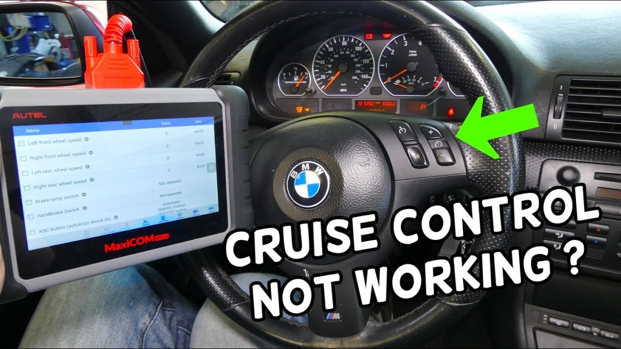 Cruise Control Should Not Be Used >> Why Cruise Control Does Not Work On Bmw E46 325i 328i 330i 320i 323i 318i 320d 318d 330d