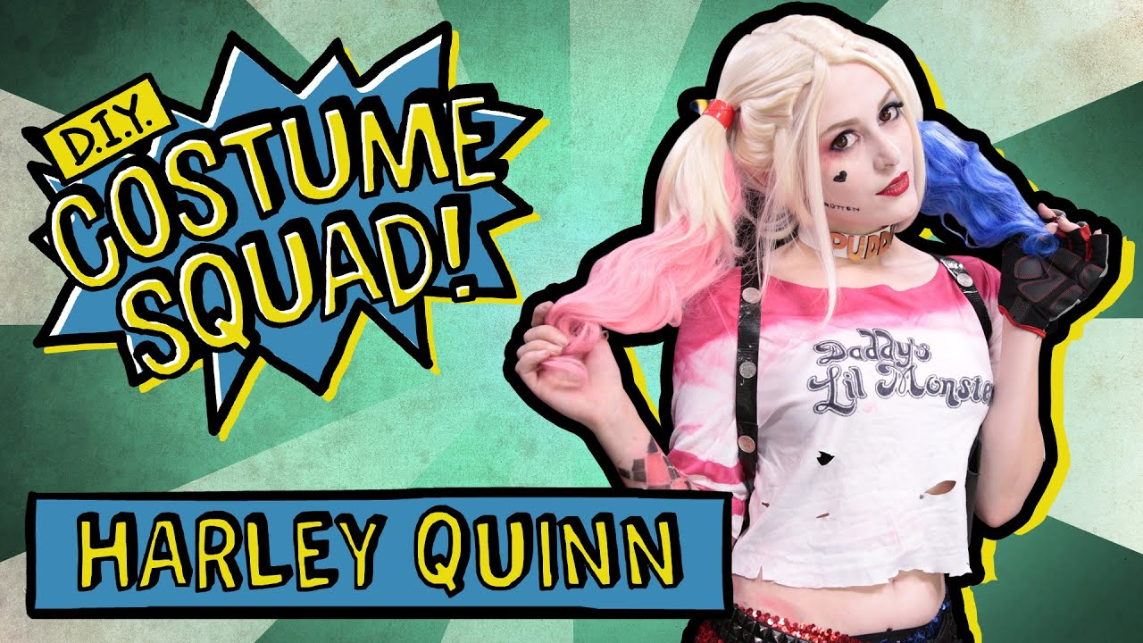 Make Your Own Harley Quinn Costume Diy Squad