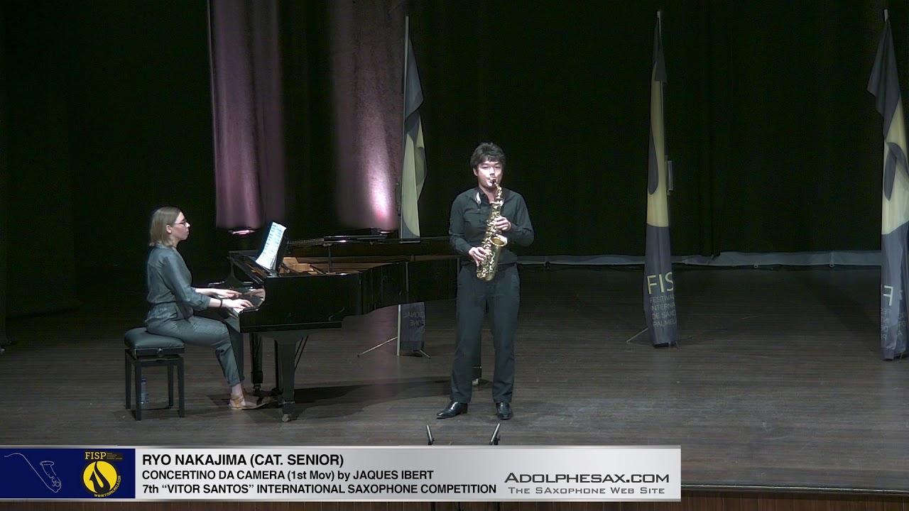 FIS Palmela 2019 - Ryo Kanajima - Concertino da Camera by Jaques Ibert 1st Mov