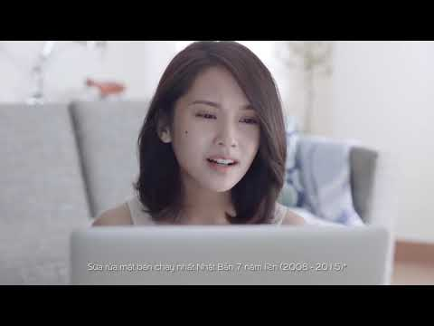 Senka Perfect Whip   Sữa rửa mặt số 1 Nhật Bản   Official TVC