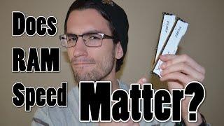 Does Faster RAM Matter?