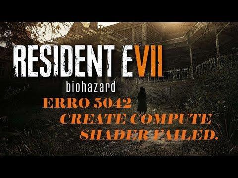 resident evil 7 erro ao iniciar jogo (re7 exe - Saída devido a um erro no  aplicativo)
