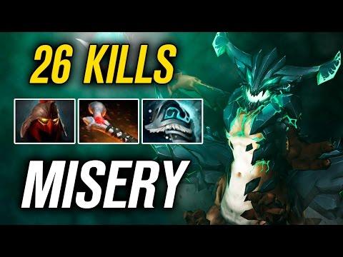 MiSeRy • Outworld Devourer • 26 KILLS — Pro MMR Gameplay Dota 2