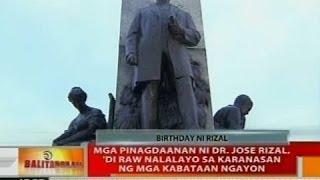 Mga Pinagdaanan Ni Dr Jose Rizal Di Raw Nalalayo Sa Karanasan Ng Mga Kabataan
