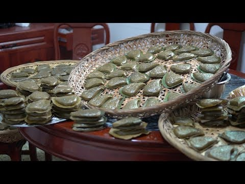 紅桃粿,鼠曲粿,山哥家3天做1000個元宵粿品,這是潮汕人的鄉愁【潮州山哥】