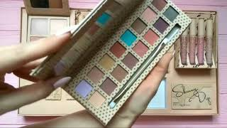 Обзор набора для макияжа Kylie