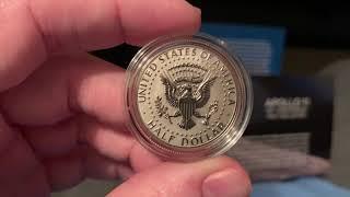 2019 Apollo 11 Half Dollar Set