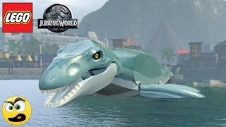 Lego Jurassic World - Como sair do Aquário com o Mosassauro