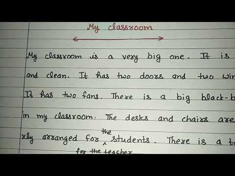 short-essay-on-my-classroom-in-english-in-educational-channel-by-ritashu